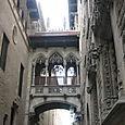 barcelona calle del bisbe