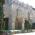 barcelona back of basilica (roman ruins)