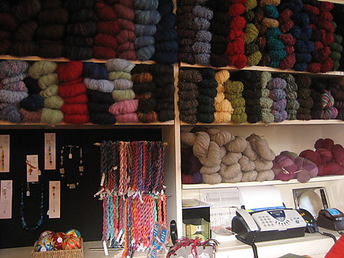Yarn shop at arts centre-1