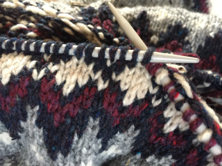 Galloway stitch