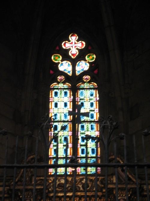barcelona basilica cloister